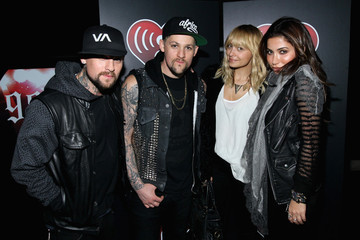 Nicole Richie Benji Madden Coldplay Performs At The iHeartRadio Concert Benefiting Los Angeles Youth Organizations - VIP Reception
