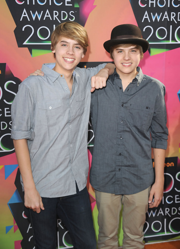Dillon and Cole Sprouse