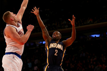 Cole Aldrich Indiana Pacers v New York Knicks