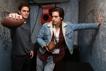 Cole Sprouse BuzzFeed and The CW's 'Riverdale' Presents Pep & Rally