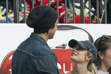 Cole Sprouse Lili Reinhart HSBC Canada Sevens - Day 2