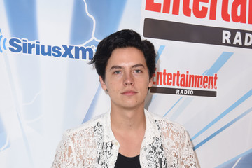 Cole Sprouse SiriusXM's Entertainment Weekly Radio Channel Broadcasts From Comic Con 2017 - Day 3