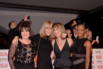 Coleen Nolan Jane Moore Arrivals at the National Television Awards