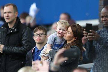Coleen Rooney Everton v Crystal Palace - Premier League