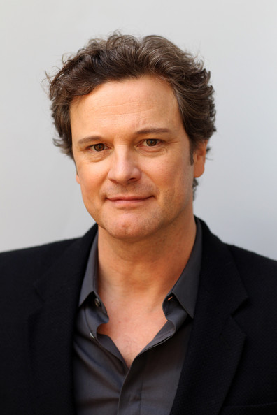 Colin Firth Colin Firth poses during the 'The Kings Speech' portrait session ...