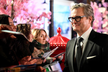Colin Firth European Premiere Of 'Mary Poppins Returns'