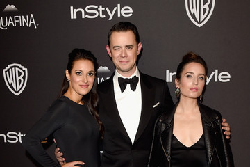 Colin Hanks Zoe Lister Jones The 2016 InStyle and Warner Bros. 73rd Annual Golden Globe Awards Post-Party - Red Carpet