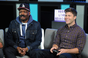 Colin Jost Saturday Night Live's Michael Che and Colin Jost Join Xbox Live Sessions to Play WOLFENSTEIN II: THE NEW COLOSSUS
