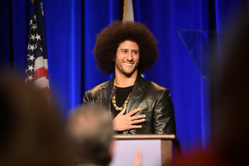 Colin Kaepernick ACLU SoCal Hosts Annual Bill of Rights Dinner - Red Carpet