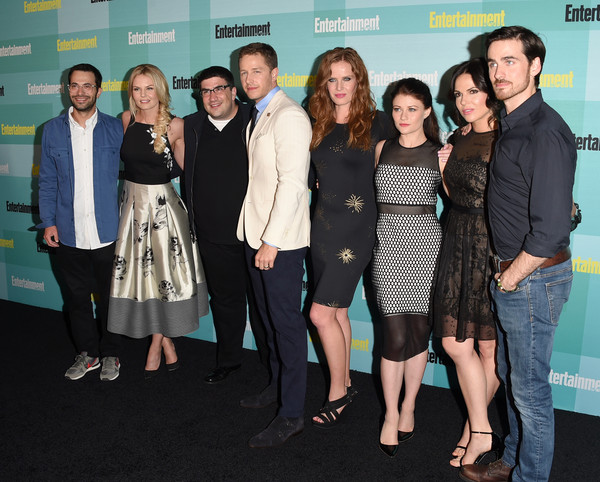 Entertainment Weekly Hosts its Annual Comic-Con Party at FLOAT at the Hard Rock Hotel [entertainment weekly hosts,event,premiere,fun,little black dress,white-collar worker,suit,carpet,edward kitsis,adam horowitz,jennifer morrison,writer,writer,actors,float,hard rock hotel,comic-con party]