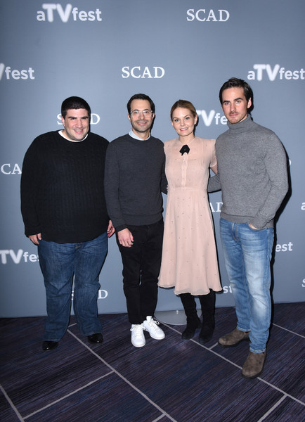 SCAD Presents aTVfest 2017 - 'Once Upon A Time' [once upon a time,fashion,event,photography,premiere,performance,fashion design,actors,executive producers,jennifer morrison,edward kitsis,colin odonoghue,adam horowitz,l-r,scad presents atvfest,scad]