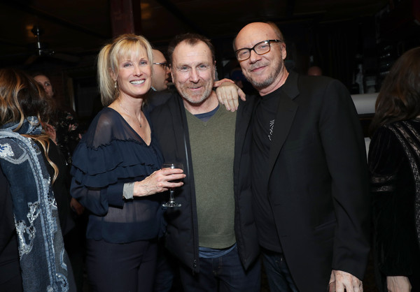 Opening Night Of 'Colin Quinn: Red State Blue State' [event,fashion,night,smile,formal wear,colin quinn,paul haggis,deborah rennard,new york city,red state blue state,party]