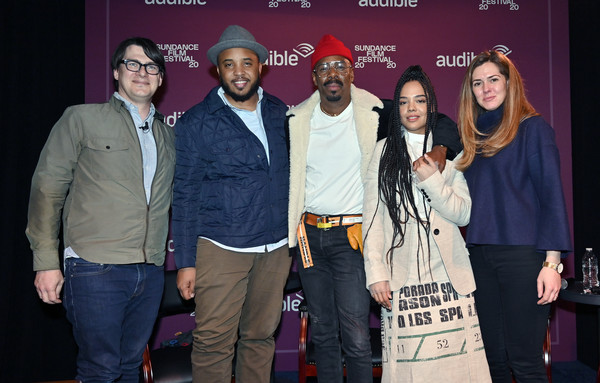 """""""Transcendence Of Narrative"""" Panel, Hosted By The Los Angeles Times At The Audible Speakeasy - 2020 Sundance Film Festival"""