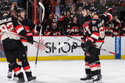 Mike Hoffman and Mika Zibanejad Photos Photo