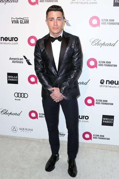 Arrivals at the Elton John AIDS Foundation Oscars Viewing Party — Part 4