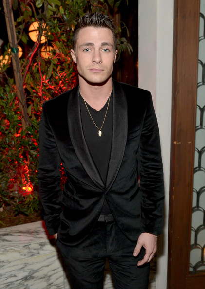 Colton Haynes - Audi Celebrates Golden Globes Week 2015