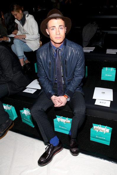 Colton Haynes - Front Row at the Richard Chai Show