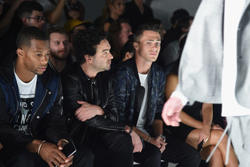 Colton Haynes The Front Row of Ovadia & Sons at New York Fashion Week