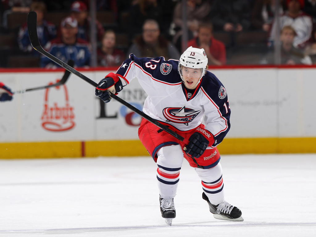 Honda North America >> Cam Atkinson - Cam Atkinson Photos - Columbus Blue Jackets ...