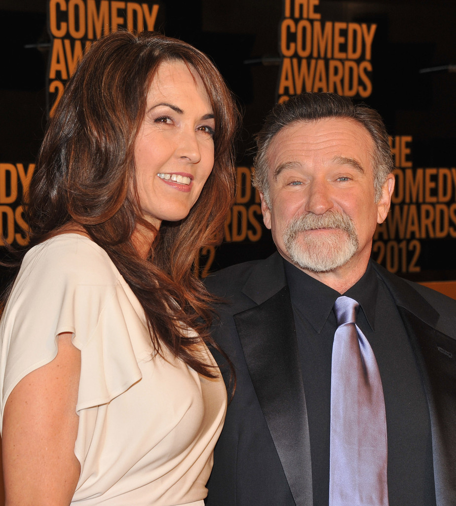 Susan Schneider and Robin Williams Photos - The Comedy ...