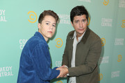 Case Walker (L) and Ken Marino attend the Comedy Central press day at Viacom Building on January 11, 2019 in Los Angeles, California.