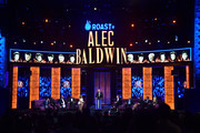 Robert De Niro (C) speaks during the Comedy Central Roast of Alec Baldwin at Saban Theatre on September 07, 2019 in Beverly Hills, California.