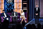 (L-R) Jeff Ross, Blake Griffin, Nikki Glaser, and Sean Hayes attend the Comedy Central Roast of Alec Baldwin at Saban Theatre on September 07, 2019 in Beverly Hills, California.