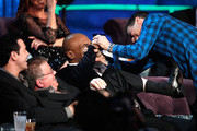 William Shatner and Mike Tyson Photos Photo