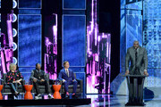 (L-R) TV personality Martha Stewart, rapper Snoop Dogg, honoree Justin Bieber, and TV personality/retired NBA player Shaquille O'Neal onstage at The Comedy Central Roast of Justin Bieber at Sony Pictures Studios on March 14, 2015 in Los Angeles, California. The Comedy Central Roast of Justin Bieber will air on March 30, 2015 at 10:00 p.m. ET/PT.