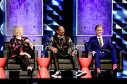 (L-R) TV personality Martha Stewart, Rapper Snoop Dogg,  and honoree Justin Bieber onstage at The Comedy Central Roast of Justin Bieber at Sony Pictures Studios on March 14, 2015 in Los Angeles, California. The Comedy Central Roast of Justin Bieber will air on March 30, 2015 at 10:00 p.m. ET/PT.