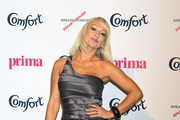 Kristina Rhianoff attends the Comfort Prima Hight Street Fashion Awards 2011 at Battersea Evolution on September 8, 2011 in London, England.