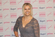 Katy Hill attends the Comfort Prima High Street Fashion Awards 2010 at Battersea Evolution on September 9, 2010 in London, England.