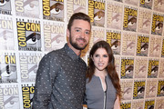 Justin Timberlake and Anna Kendrick attend the DreamWorks Animation press line during Comic-Con International 2016  at Hilton Bayfront on July 21, 2016 in San Diego, California.