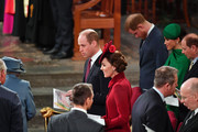 Prince William, Duke of Cambridge, Catherine, Duchess of Cambridge, Prince Harry, Duke of Sussex, Meghan, Duchess of Sussex and Prince Edward, Earl of Wessex attend the Commonwealth Day Service 2020 on March 9, 2020 in London, England.