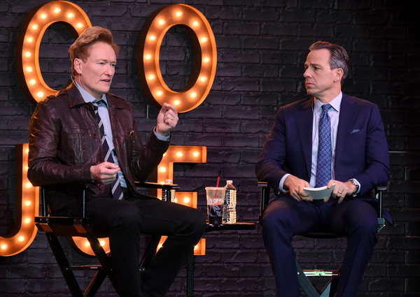 Conan O'Brien In Conversation With Jake Tapper
