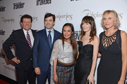 "(L-R) New York Times columnist Nicholas D. Kristof, actor Ron Livingston, author Somaly Mam, actress Rosemarie DeWitt and  Editor-in-chief Klara Glowczewska attend the Conde Nast Traveler Celebration of ""The Visionaries"" and 25 Years of Truth In Travel at Alice Tully Hall on September 18, 2012 in New York City."