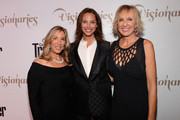 "VP and Publisher Carolyn Kremins, model Christy Turlington and Editor in Chief Klara Glowczewska attend the Conde Nast Traveler Celebration of ""The Visionaries"" and 25 Years of Truth In Travel at Alice Tully Hall on September 18, 2012 in New York City."