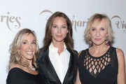 "(L-R) VP and Publisher Carolyn Kremins, model Christy Turlington and  Editor-in-Chief Klara Glowczewska attend the Conde Nast Traveler Celebration of ""The Visionaries"" and 25 Years of Truth In Travel at Alice Tully Hall on September 18, 2012 in New York City."