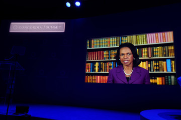 Condoleezza Rice 2016 Concordia Summit Convenes World Leaders To Discuss The Power Of Partnerships - Day 1