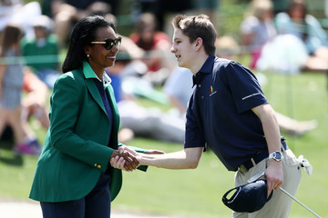 Condoleezza Rice Drive, Chip, And Putt Championship At Augusta National Golf Club