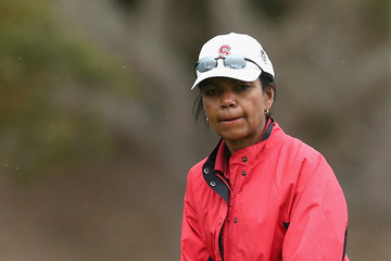 Condoleezza Rice AT&T Pebble Beach National Pro-Am: Round 2
