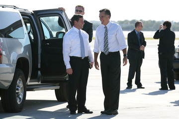 Connie Mack Mitt Romney Campaigns Throughout Florida