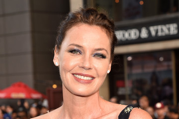 Connie Nielsen Premiere of Warner Bros. Pictures' 'Wonder Woman' - Red Carpet
