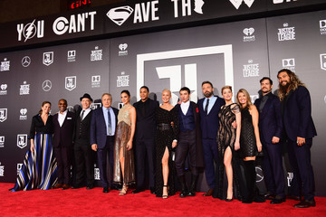 """Connie Nielsen Premiere Of Warner Bros. Pictures' """"Justice League"""" - Red Carpet"""