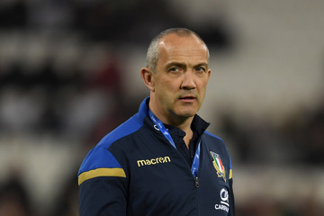 Conor O'Shea France vs. Italy - NatWest Six Nations