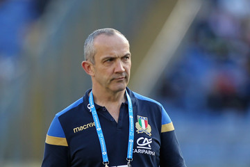 Conor O'Shea Italy v England - NatWest Six Nations
