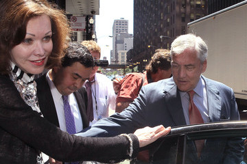 Barbara Amiel Conrad Black Attends Bail Hearing In Chicago
