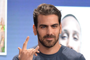 Nyle DiMarco attends Conroy Productions and Google Host their first ever Entertainment and Tech mashup event at Spruce Goose Hanger on April 06, 2019 in Los Angeles, California.