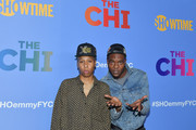 "Lena Waithe and Barton Fitzpatrick attend Showtime's ""The Chi"" For Your Consideration at Silver Screen Theater at the Pacific Design Center on April 10, 2019 in West Hollywood, California."