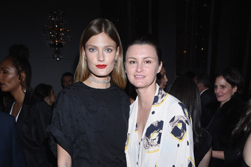 Constance Jablonski Harper's BAZAAR 150th Anniversary Event Presented With Tiffany & Co at The Rainbow Room - Inside